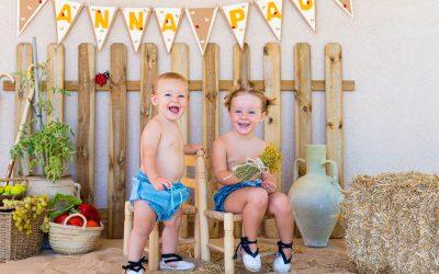 Smash cake rural en Cocentaina con Anna y Pau
