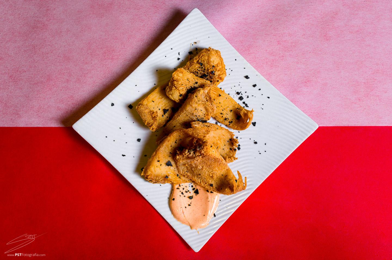 Raya a la andaluza, fotografía gastronómica en Alcoy