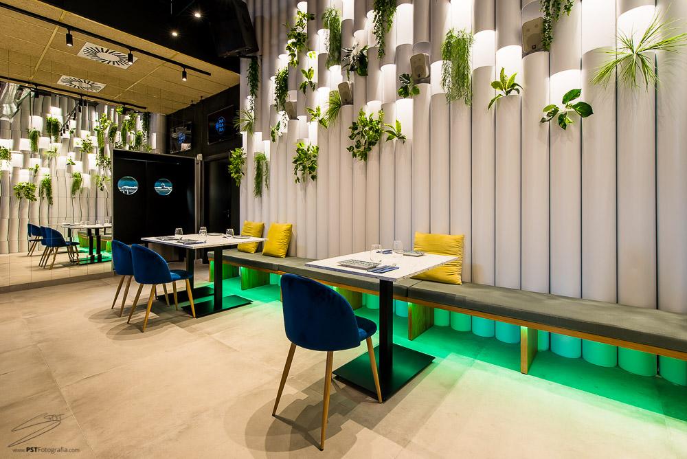 Fotografía de arquitectura para Restaurante La Maraña
