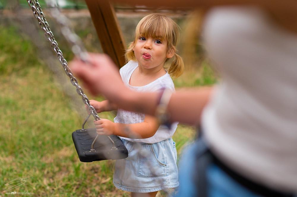 Fotografia infantil al exterior en Alfafara